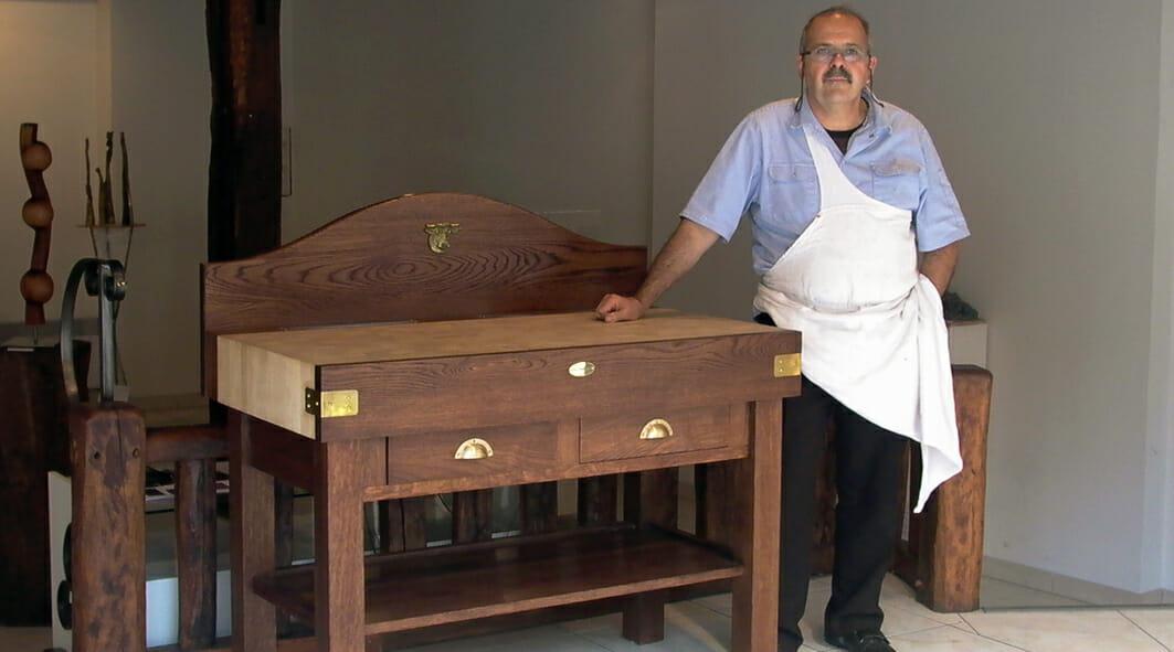 Billot de boucher professionnel-Le Gaillard
