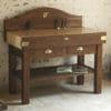 Billot Le Gaillard - finition chêne rustique