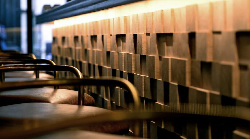 Créations en bois de bout-Bar